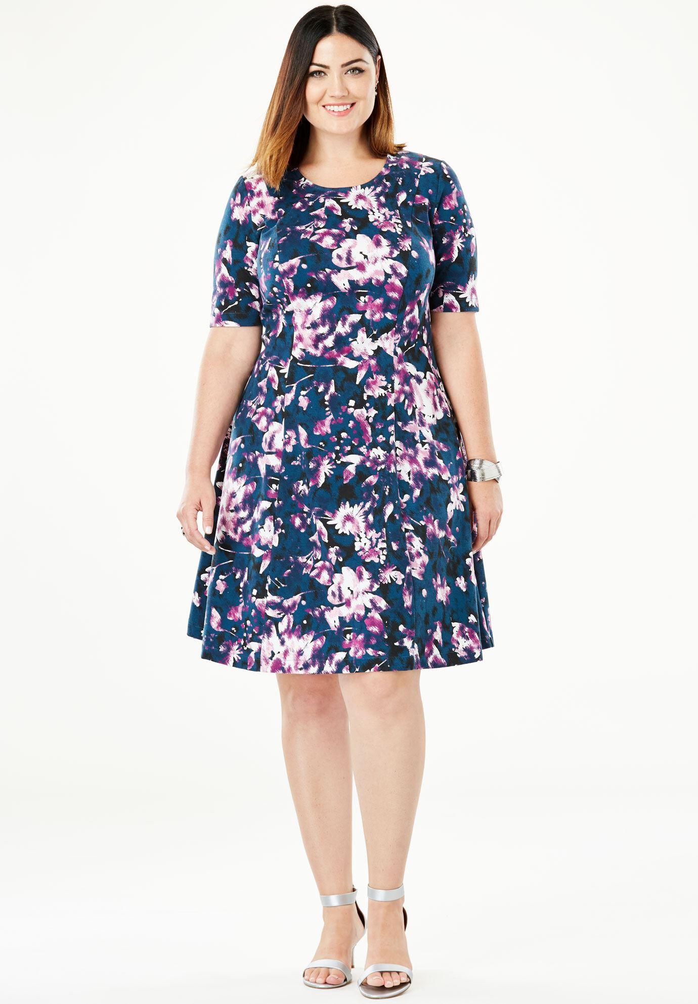 Cheap Plus Size Casual Dresses