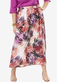 Silky Skirt, TROPICAL LEAF