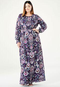 Georgette Maxi Dress,