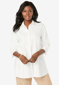 Linen Tunic, WHITE