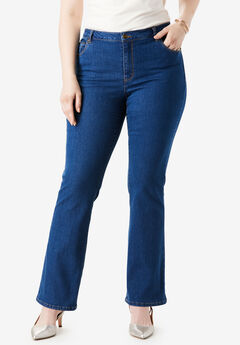 True Fit Bootcut Jeans , MEDIUM STONEWASH