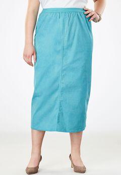 A-Line Jegging Skirt,