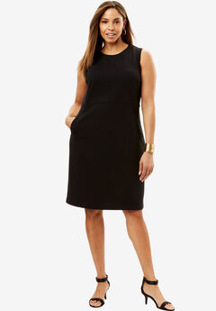 Ponte Sheath Dress,