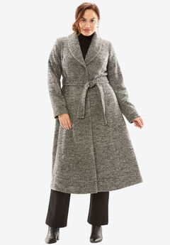 Long Swing Coat,
