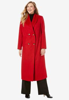 Long Shawl Collar Coat,