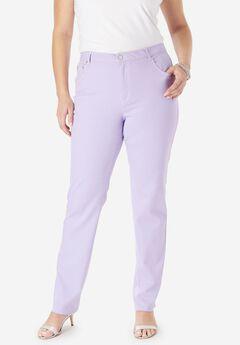 True Fit Straight Leg Jeans,