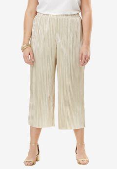 Wide Leg Crop Pant,