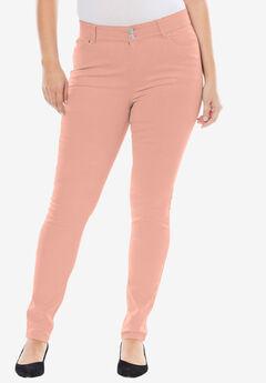 Tummy-Control Skinny Jeans,