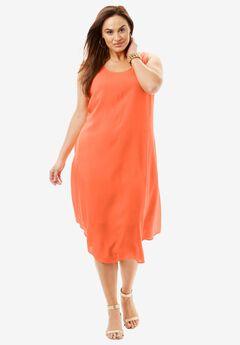 Sleeveless Midi Dress,
