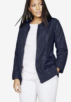 Eyelet Jacket,