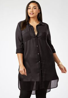 Mega Tunic, BLACK