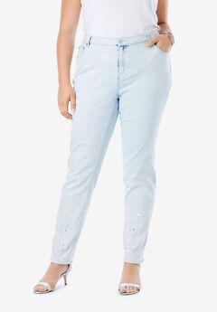 Embellished Jeans, BLEACH