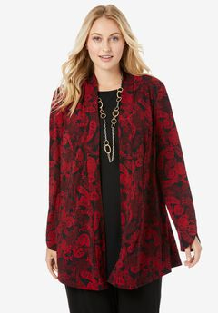 Shawl Collar Topper,
