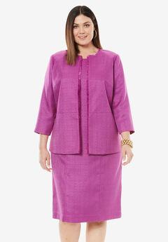 Tweed Jacket Dress,