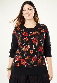 Embroidered Sweater,