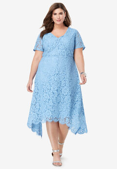 Lace Handkerchief Dress,
