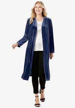 Velour Duster, EVENING BLUE