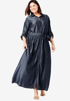 Tencel® Maxi Dress,