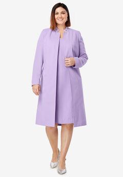 Embellished Coat and Dress Suit,