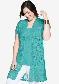 Crochet Duster,