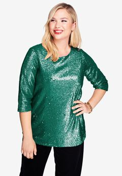 Sequin Tunic,