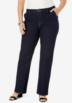 True Fit Wide Leg Jeans, INDIGO