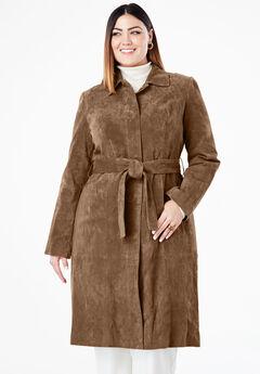 Trench Coat, NUTMEG