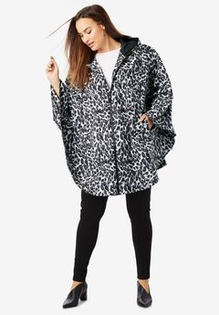 Rain Poncho, ANIMAL PRINT