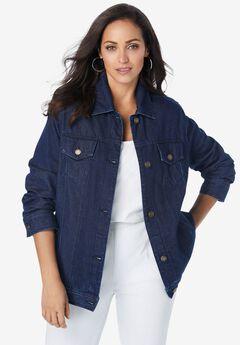 Classic Cotton Denim Jacket,