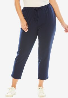 Pure Ease Tapered Crop Pants,