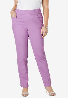 Comfort Waistband Jeans, AMETHYST