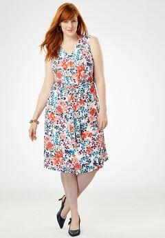 A-Line Georgette Dress,