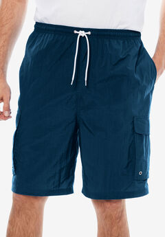 KS Island™ Cargo Swim Trunks, NAVY
