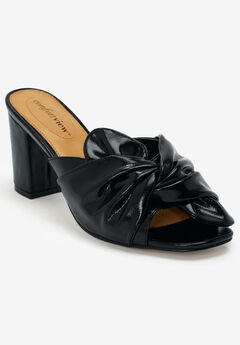 The Bekah Mule by Comfortview®, BLACK