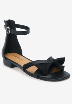 The Eve Sandal by Comfortview®, BLACK