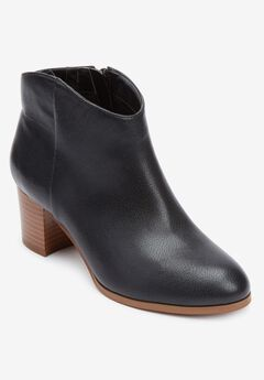 The Carlotta Bootie , BLACK