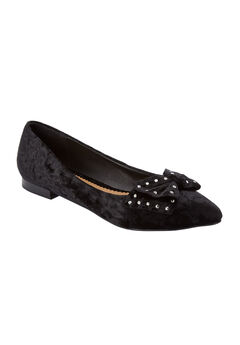 The Lilian Flat by Comfortview®, BLACK