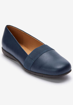 The Arya Flat by Comfortview®, NAVY