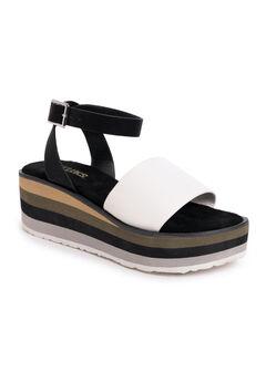Groove Time Platform Sandals,