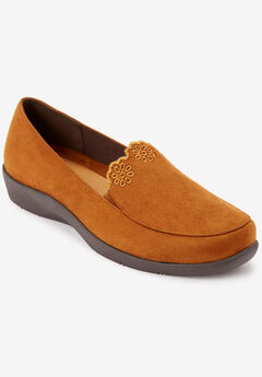 The Anwen Flat by Comfortview®, COGNAC