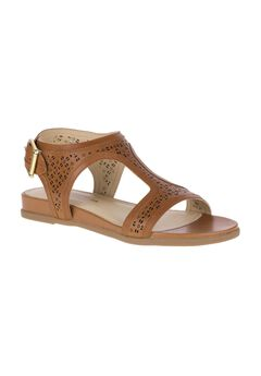 Dalmation T-Strap Sandal by Hush Puppies®,