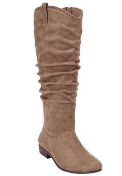 The Roderick Wide Calf Boot,