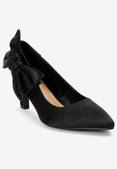 The Deidra Pump by Comfortview®, BLACK