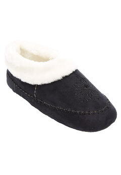 Snowflake Slippers by Comfortview®,