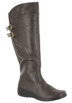 Tess Plus Wide Calf Boot by Easy Street®,