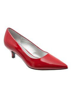 Paulina Leather Pump by Trotters®,