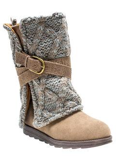 Nikki Belt Wrapped Boot by Muk Luks®,
