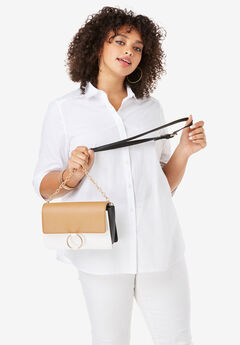 Colorblock Crossbody Bag, COLORBLOCK
