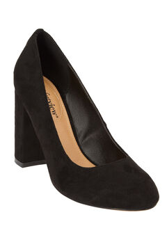 The Camile Pump by Comfortview®, BLACK