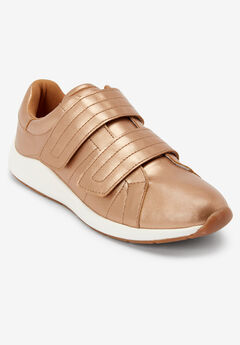 The Mavis Sneaker by Comfortview®, ROSE GOLD